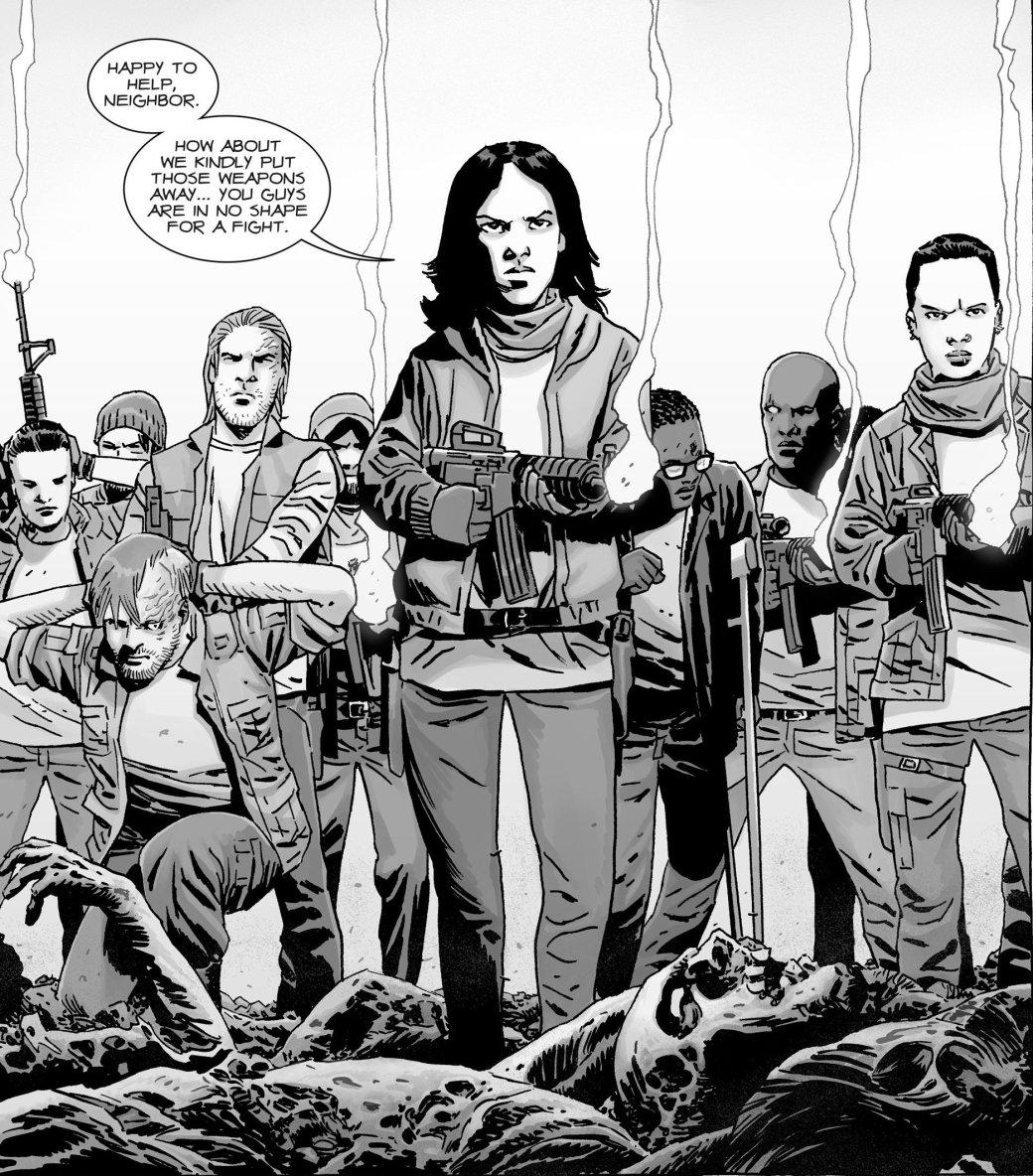 Кто погиб в новом номере комикса «Ходячие мертвецов»?   Канобу - Изображение 10765