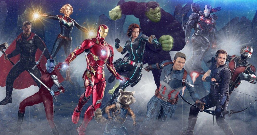 Арты «Мстителей 4» ввысоком разрешении позволяют рассмотреть супергероев во всей красе | Канобу - Изображение 9722