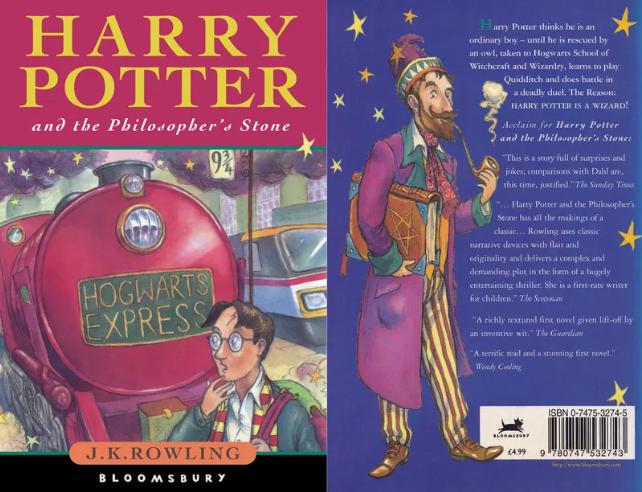 Книгу «Гарри Поттер и Философский камень» с оригинальными опечатками продали за почти 6 млн рублей!   Канобу - Изображение 5589