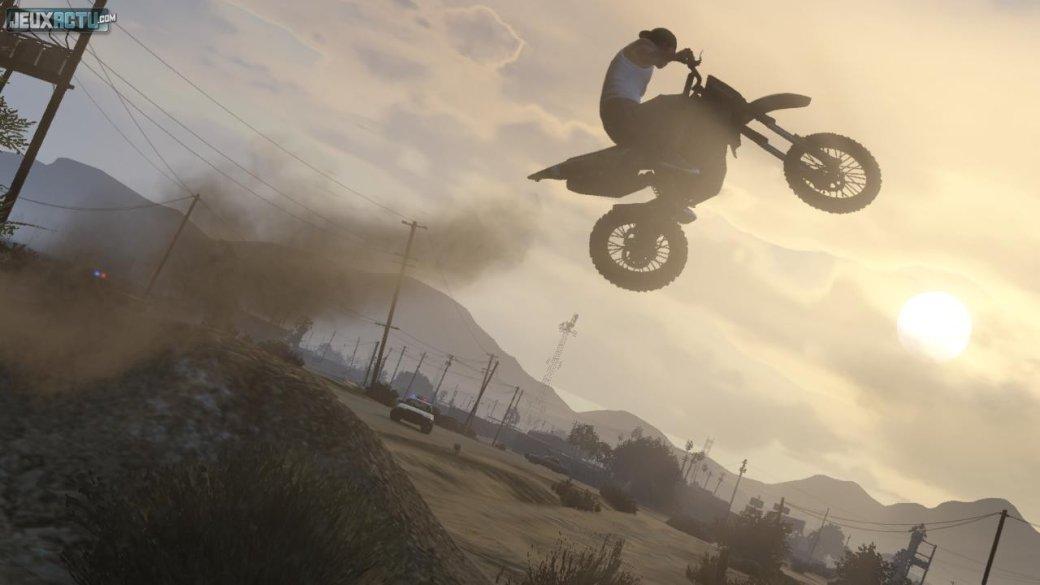 Гифка дня: возможно, самый лучший трюк вGrand Theft Auto 5 | Канобу - Изображение 1