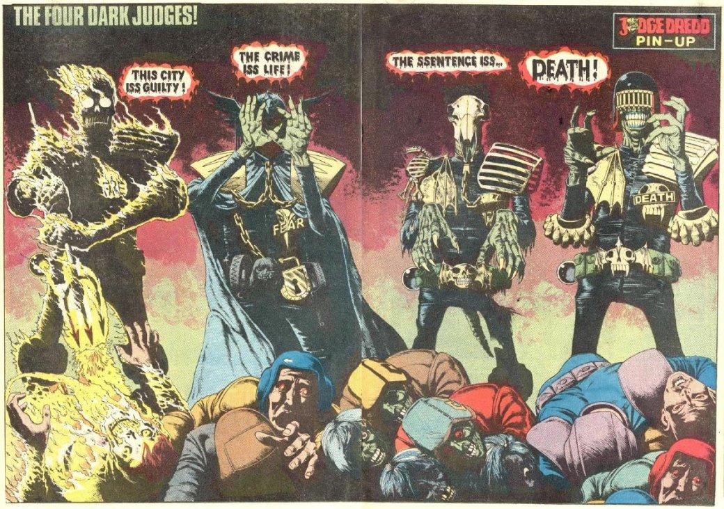 Сиквел «Дредда» может быть про Судью Смерть   Канобу - Изображение 1459