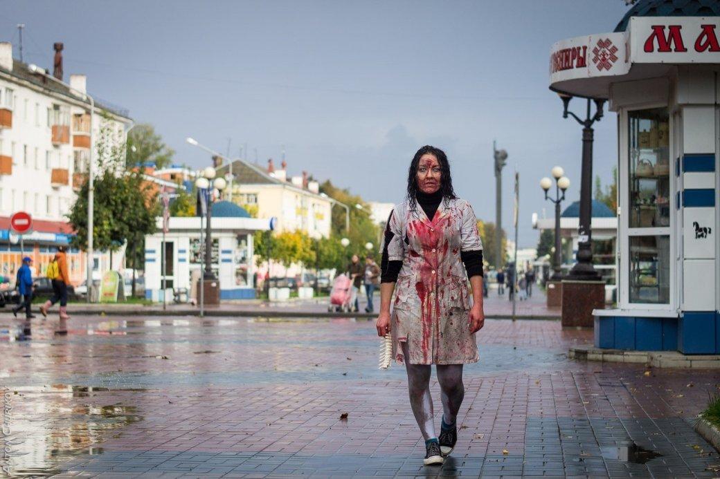 В Йошкар-Оле прошел первый зомби-парад | Канобу - Изображение 5