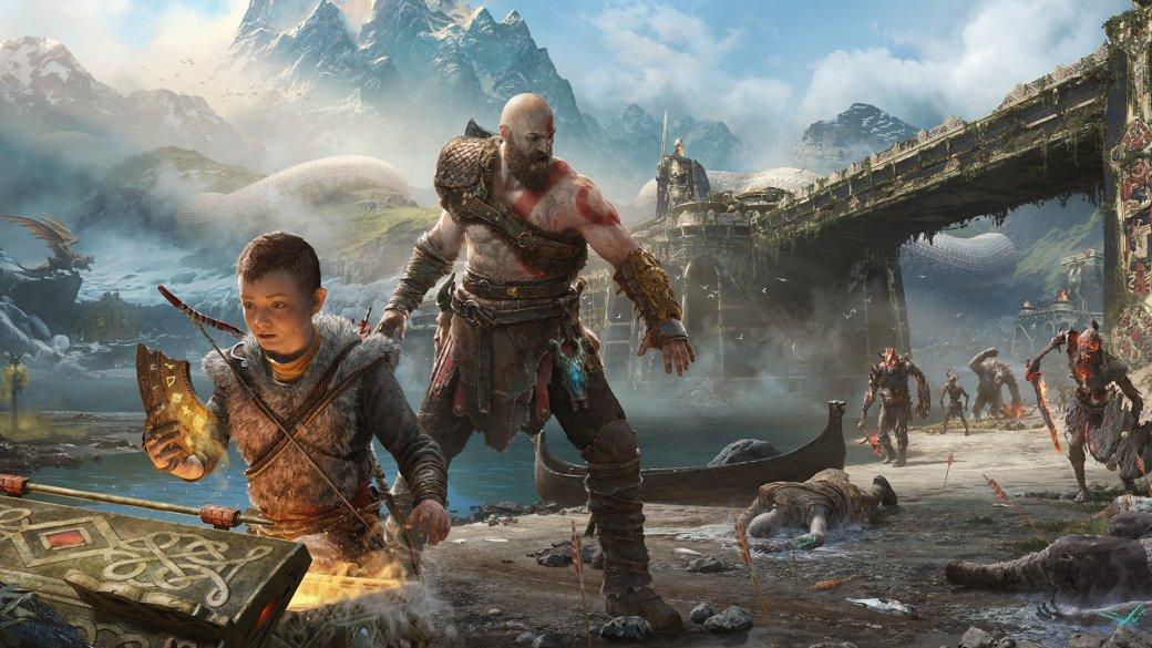 God of War (2018, экшен, слэшер, RPG, open world PS4) - обзоры главных и лучших игр 2018 года | Канобу - Изображение 1