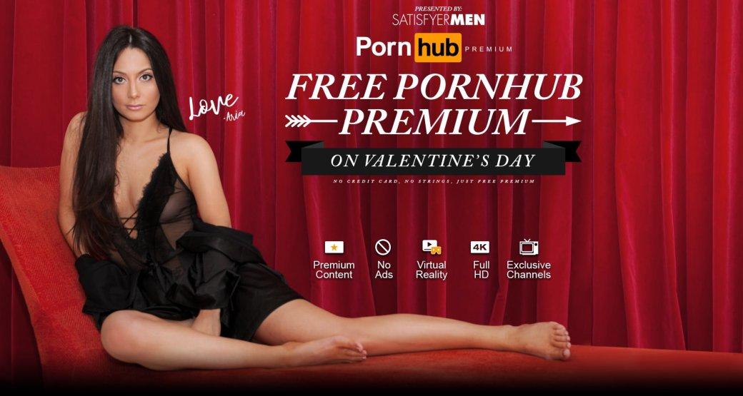 Не с кем провести 14 февраля? Pornhub дарит вам целый день премиума!. - Изображение 1