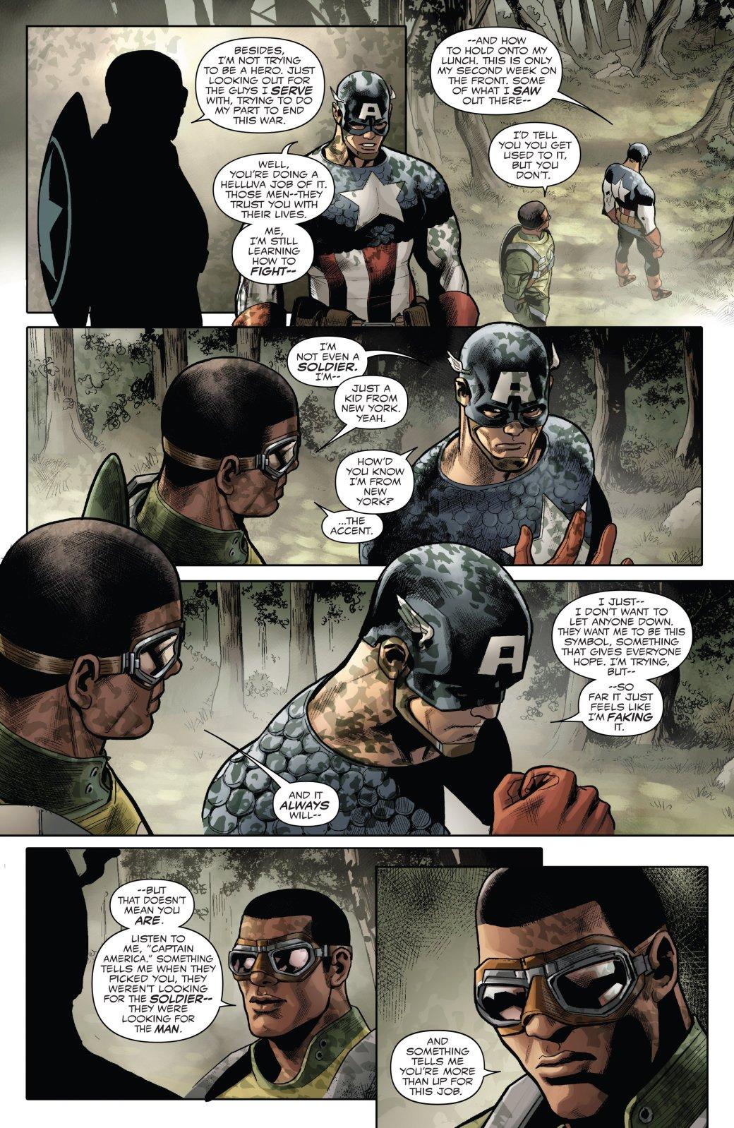 Marvel Generations: отправившись впрошлое, Сэм Уилсон прожил там целую жизнь | Канобу - Изображение 5749