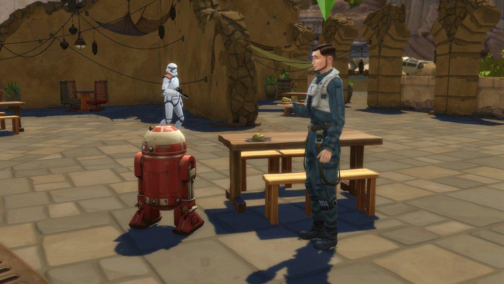 Изсима вгероя «Звездных войн». Как преобразиться в«The Sims 4: Путешествие наБатуу»? | Канобу - Изображение 456
