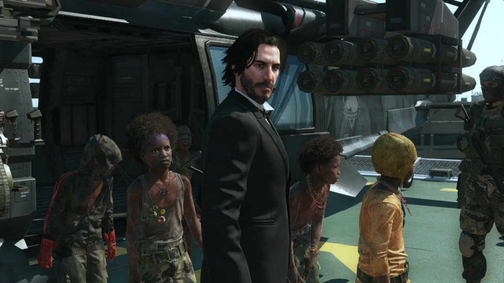 Теперь Metal Gear Solid 5 можно пройти за Джона Уика и Джонни Сильверхенда из Cyberpunk 2077 | Канобу - Изображение 106