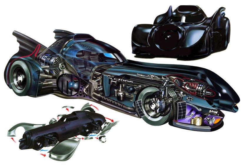История бэтмобиля: все машины Темного Рыцаря | Канобу - Изображение 5072