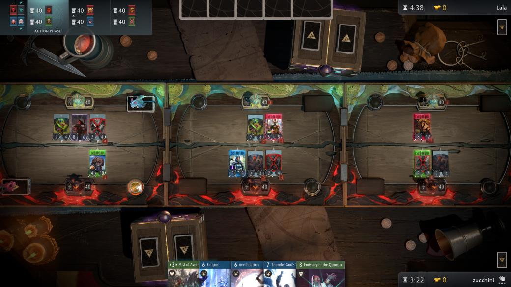 Смерть героев и 3 стола: что мы знаем о карточной игре Artifact. - Изображение 5