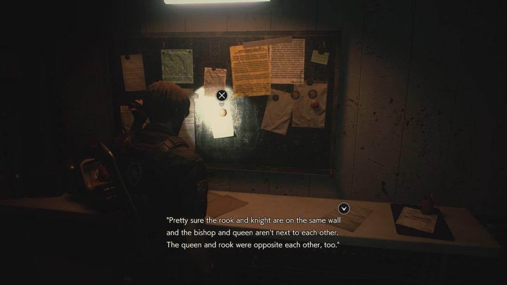 Гайд. Решение всех головоломок вResident Evil 2 Remake | Канобу - Изображение 3236