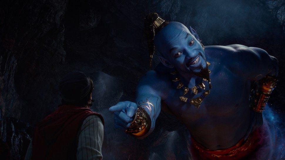 Ужаснитесь при виде голубого Уилла Смита вроли Джинна вновом тизере «Аладдина» Гая Ричи | Канобу - Изображение 1