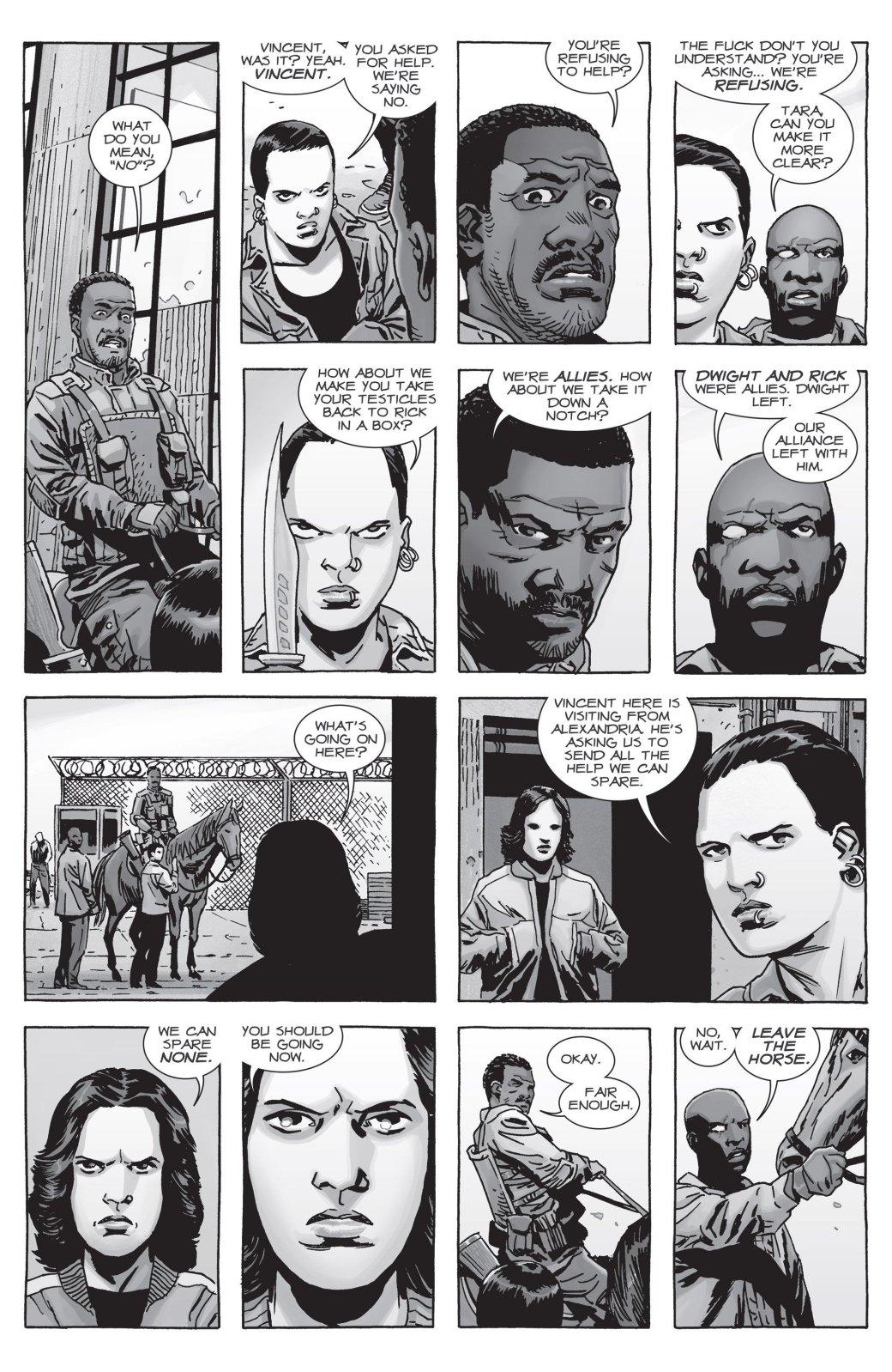 Война с Шепчущимися в комиксе The Walking Dead не оправдала ожиданий | Канобу - Изображение 9