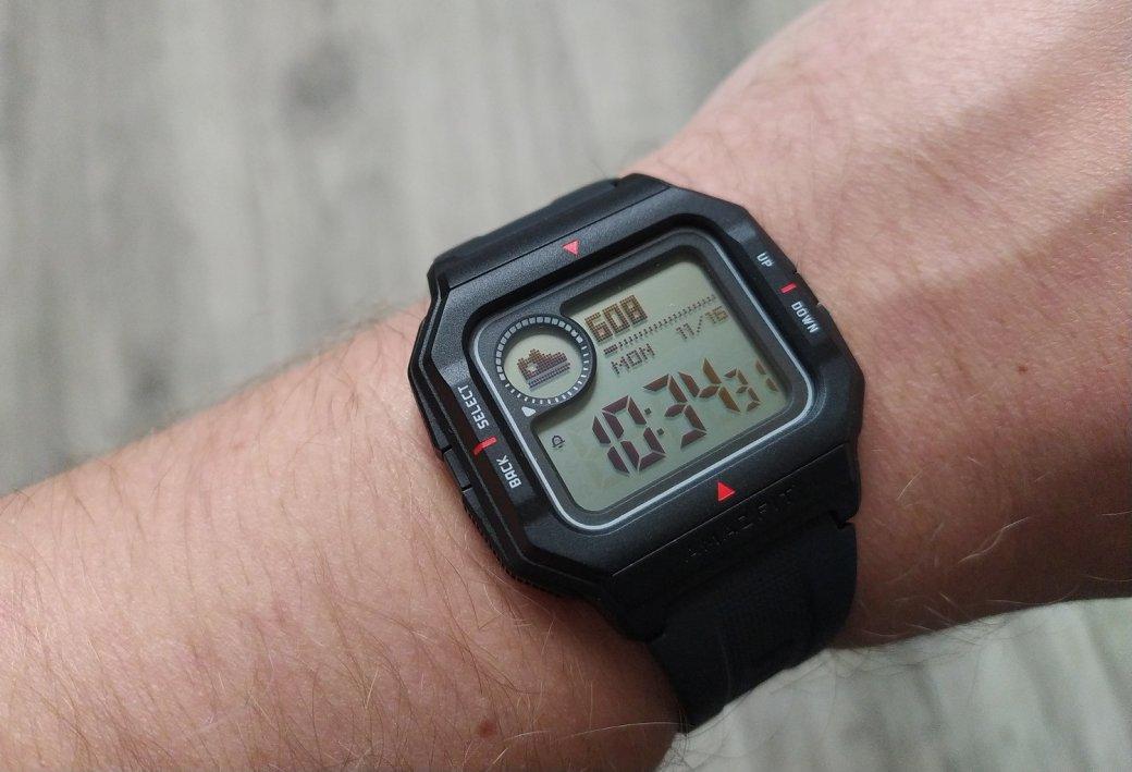 Обзор Amazfit Neo: бюджетный долгоиграющий фитнес-трекер вкорпусе ретро-часов | Канобу - Изображение 11492