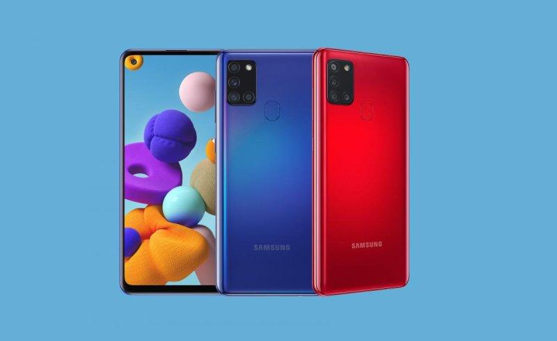 В Россию приехал смартфон Samsung Galaxy A21s
