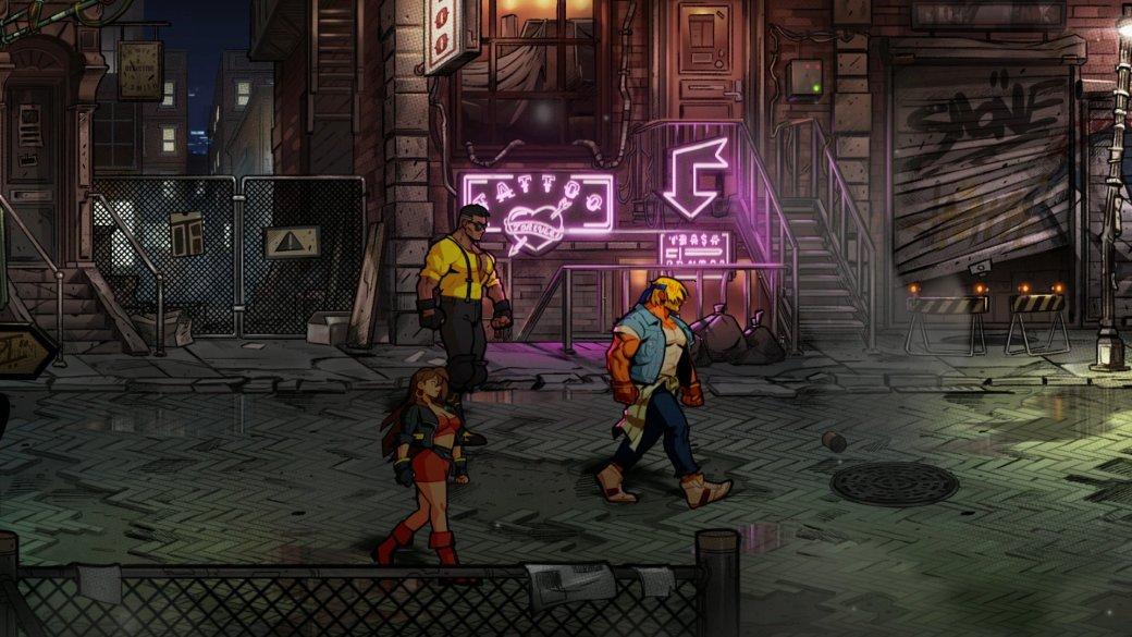 10 лучших игр 2020. 4 место. Streets ofRage 4— одна излучших ретро-игр всех времен