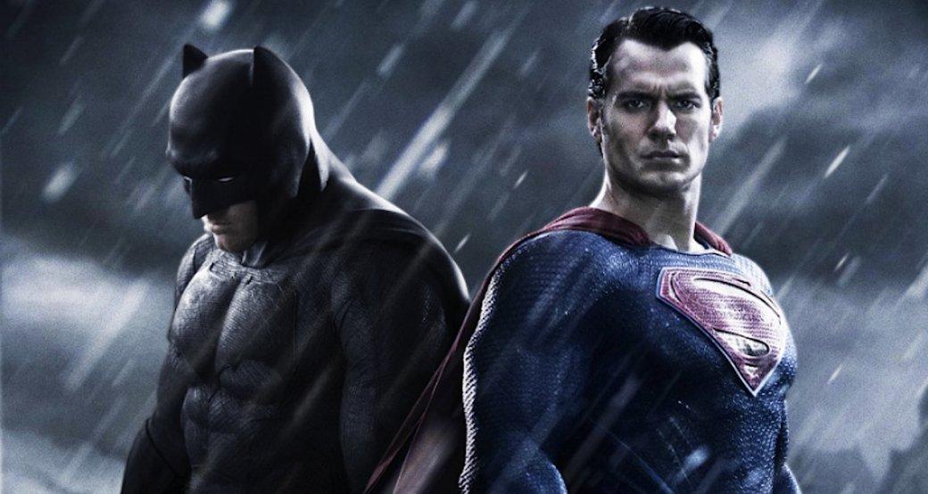 Пафосные Бэтмен иСупермен вновой удаленной сцене из«Лиги справедливости». Кудаже они смотрят?. - Изображение 1