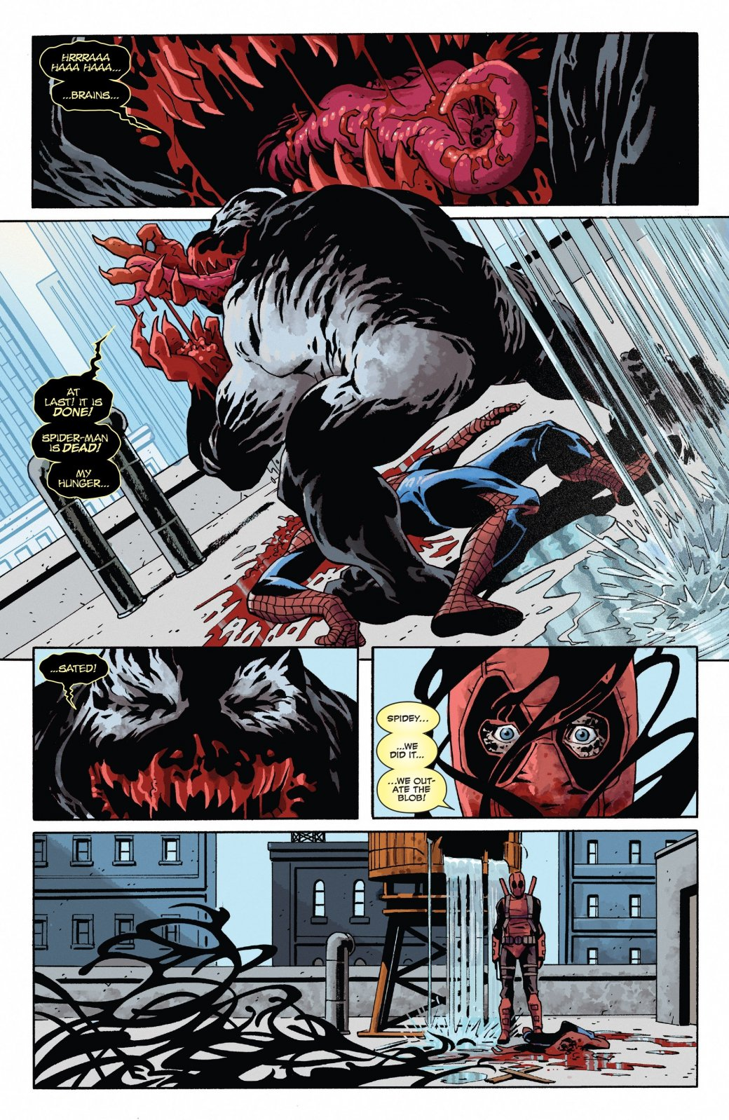 Дэдпул снова примерил Венома, наэтот раз, чтобы убить Человека-паука   Канобу - Изображение 0