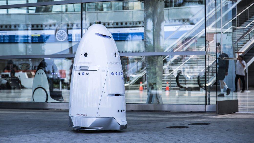 Полицейский робот непомог человеку идаже попросил того убраться сдороги | Канобу - Изображение 1
