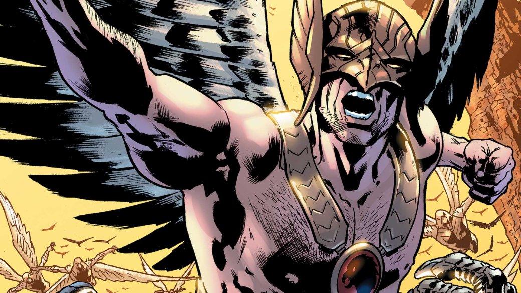 Вновом сценарии «Черного Адама» фигурируют Старгерл, Человек-ястреб иАтом Крушитель | Канобу - Изображение 0