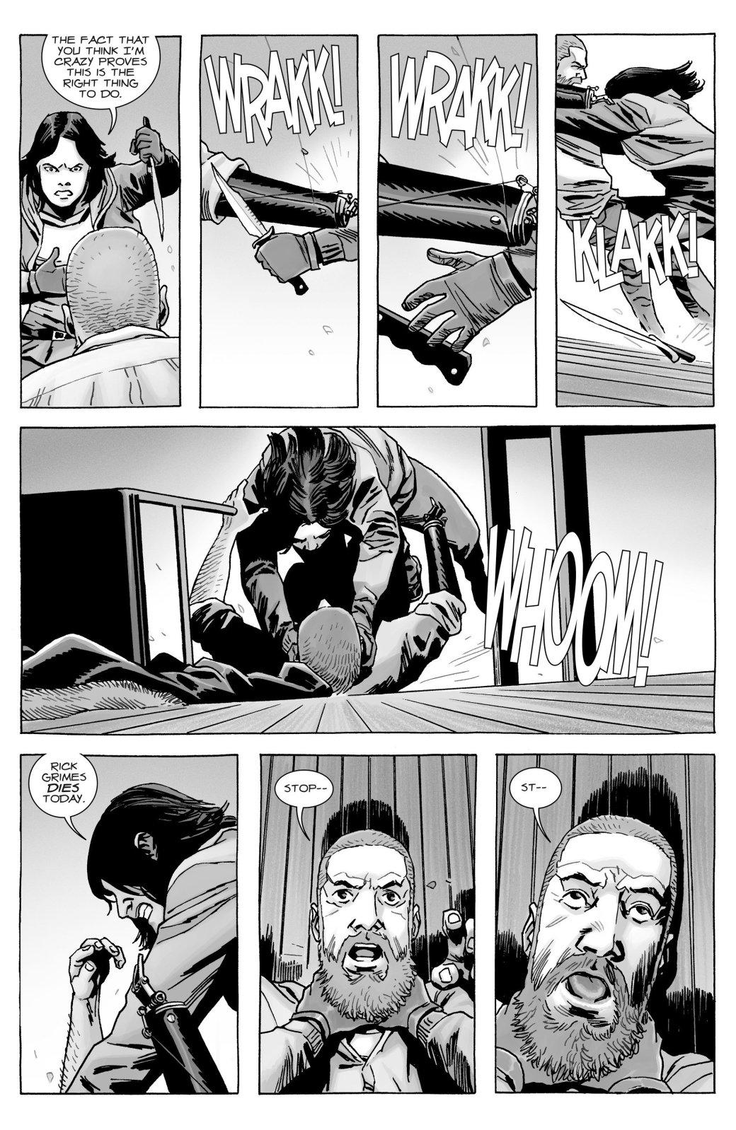 Кто погиб в новом номере комикса «Ходячие мертвецов»?   Канобу - Изображение 10769