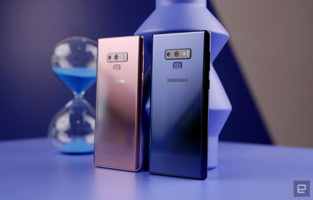 Samsung представила Galaxy Note 9 сновой камерой иобновленным пером S-Pen. - Изображение 1
