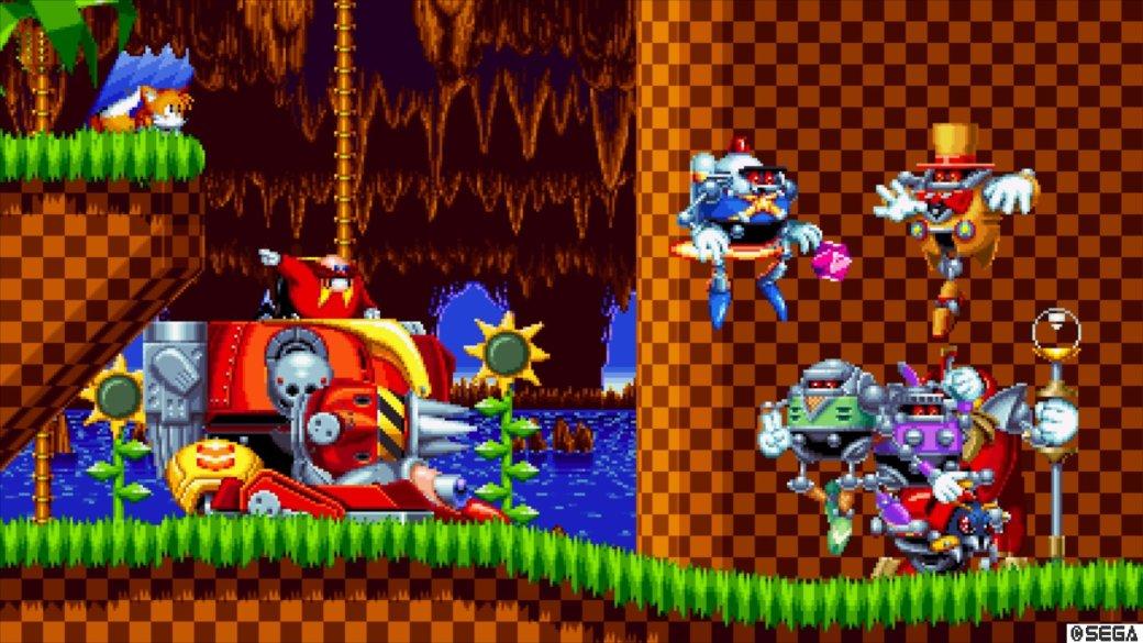 Обзор Sonic Mania - рецензия на игру Sonic Mania | Рецензии | Канобу