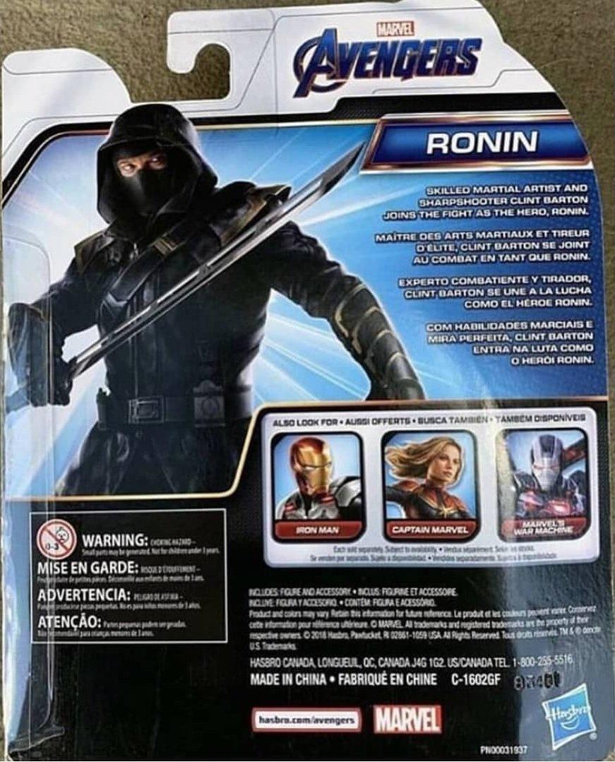 Фигурки по«Мстителям: Финал» позволяют полюбоваться Ронином, Капитан Марвел идругими супергероями | Канобу - Изображение 6