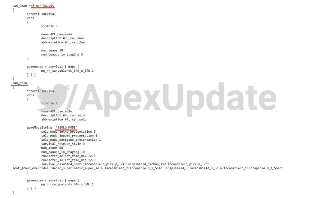 Датамайнеры нашли в файлах Apex Legends упоминание соло и парного режимов | Канобу - Изображение 2