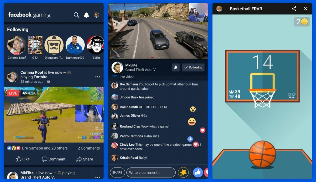 Представлена Facebook Gaming— игровая стриминг-платформа иконкурент Mixer, Twitch иYouTube | Канобу - Изображение 138