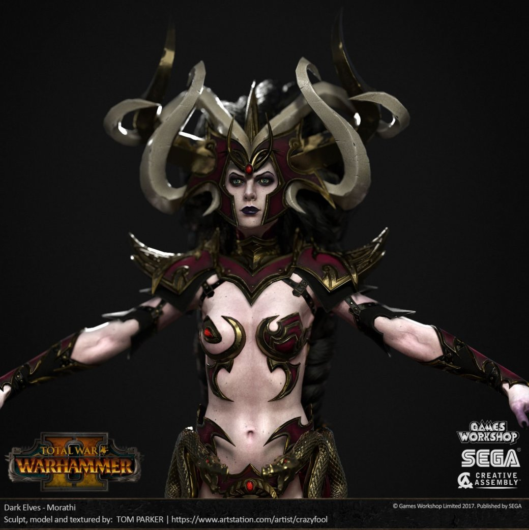 Взгляните напотрясающие концепт-арты Total War: Warhammer II. - Изображение 17