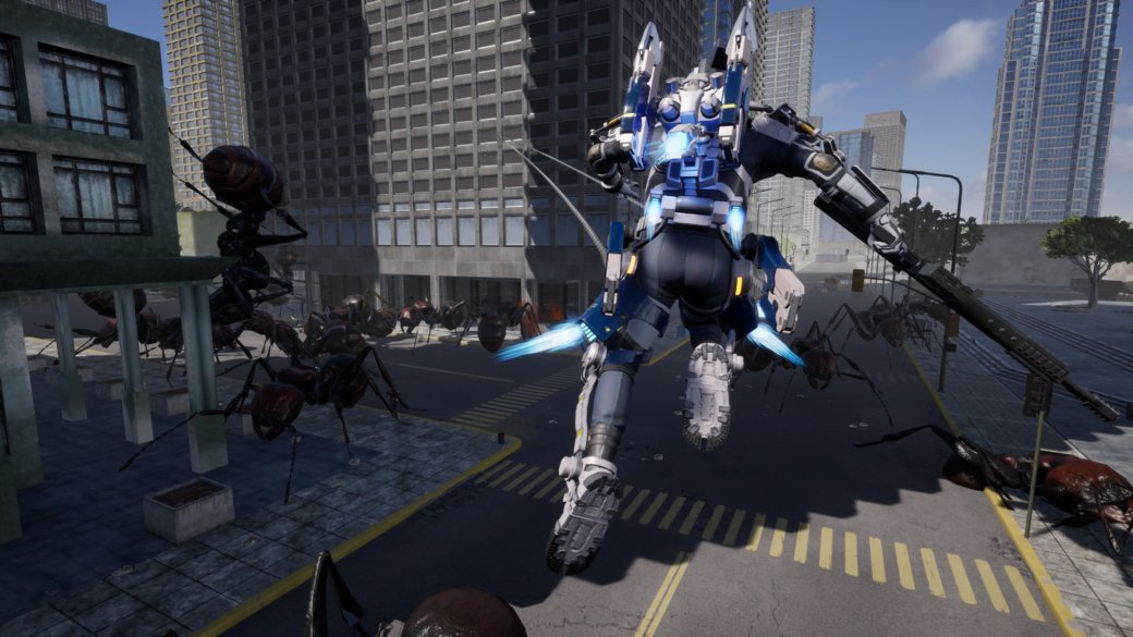 Рецензия на Earth Defense Force: Iron Rain