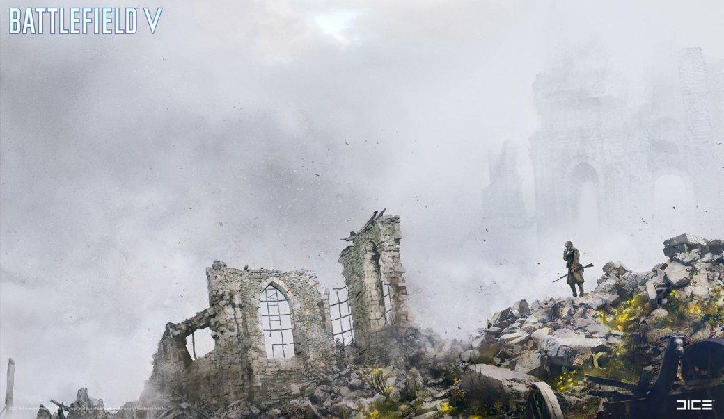 Взгляните на атмосферные концепт-арты и иллюстрации по Battlefield V   Канобу - Изображение 264
