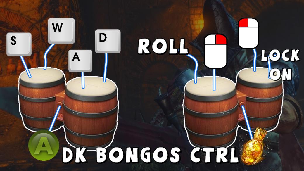 Стример проходит Dark Souls 3 спомощью бонго | Канобу - Изображение 4468