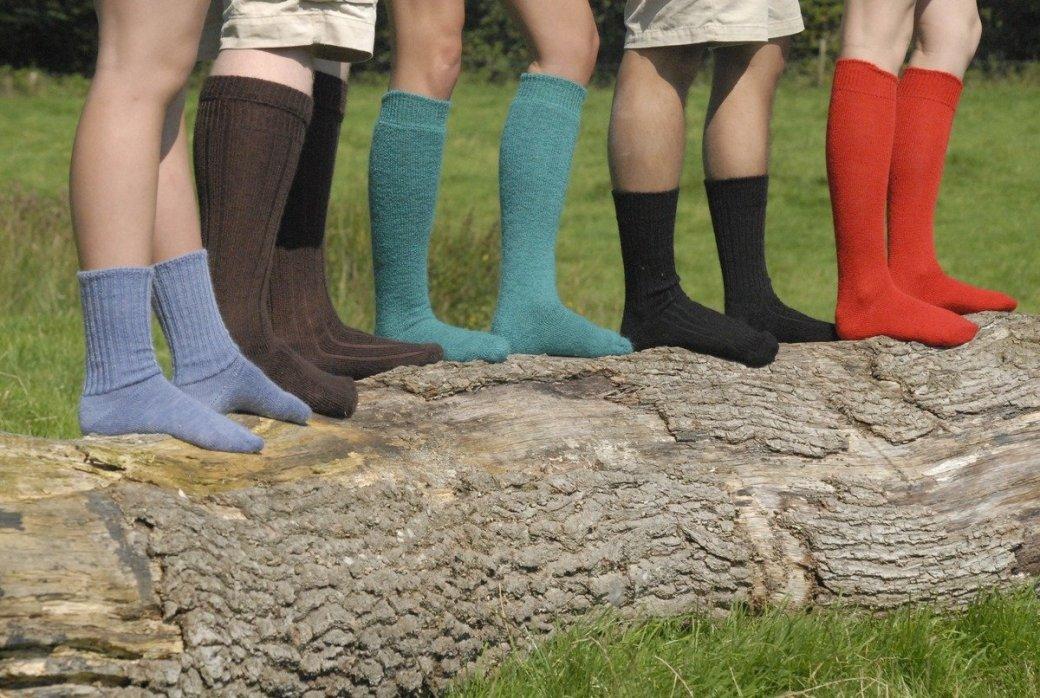 В Британии изобрели носки, которые не нужно стирать