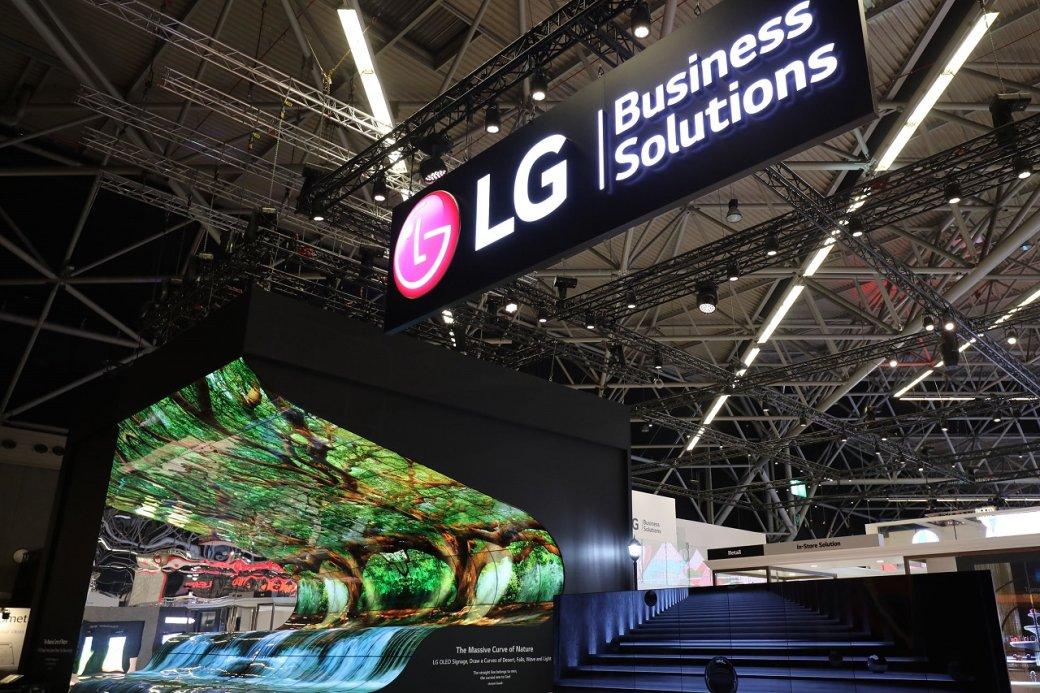 LG на выставке ISE 2019: передовые прозрачные экраны и стены из дисплеев  | Канобу - Изображение 2733