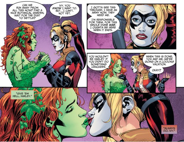 Марго Робби хотелабы исследовать отношения Харли Квинн иЯдовитого плюща вкиновселенной DC | Канобу - Изображение 2217