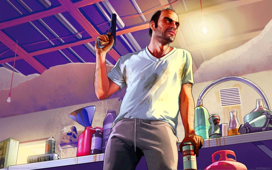 Гифка дня: добрый водитель Тревор вGrand Theft Auto V | Канобу - Изображение 0