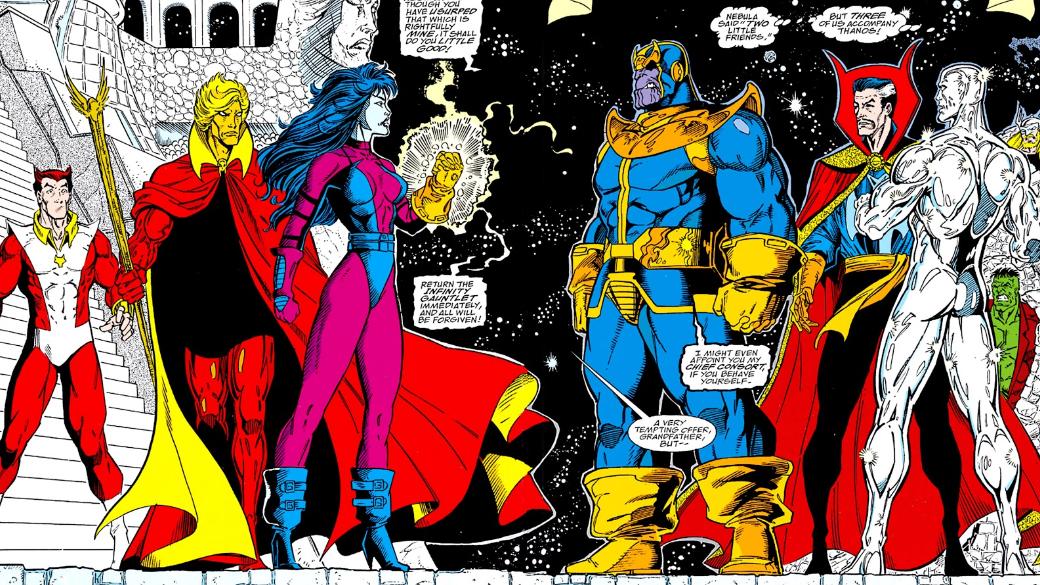 Какие персонажи Marvel, кроме Таноса, использовали Перчатку Бесконечности? | Канобу - Изображение 19