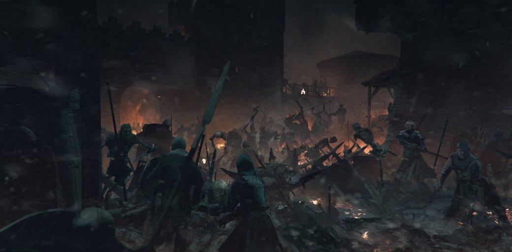 Художник выложил концепт-арты к8 сезону «Игры престолов». Иххоть сейчас ставь нарабочий стол | Канобу - Изображение 682