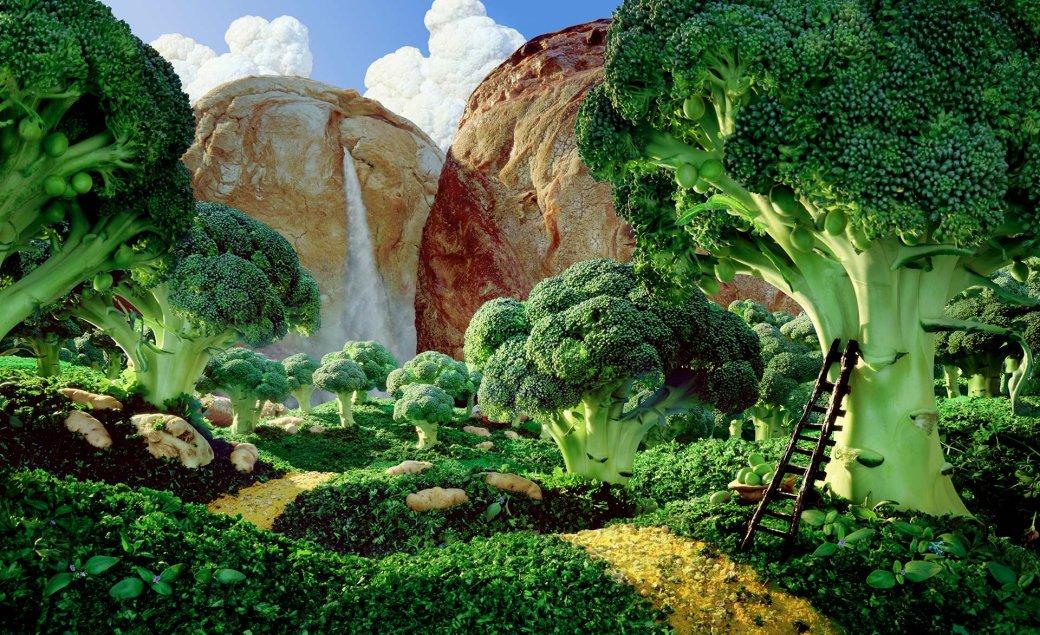 Фотограф создает сказочные пейзажи, используя только еду   Канобу - Изображение 13815